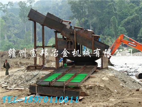 缅甸洗沙金设备用户现